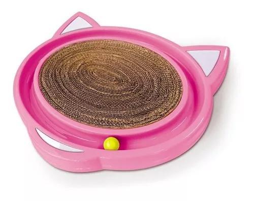 Brinquedo arranhador para gato bolinha cat crazy