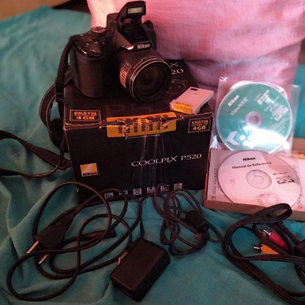Câmera coolpix nikon p520