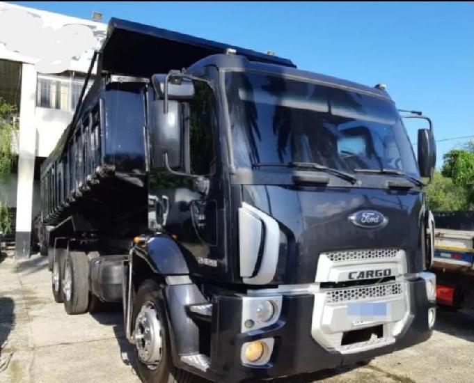 Ford cargo 2428 caçamba ar condicionado 2012
