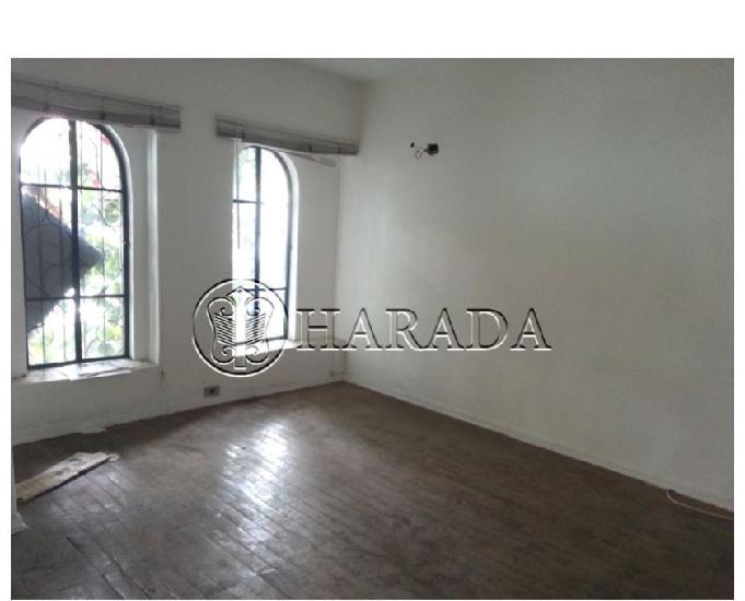 Ha71-sobrado 100 m2,2 salas,2 dm na vl. mariana