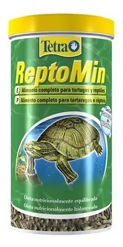 Ração para tartaruga aquática tetra reptomin 220g