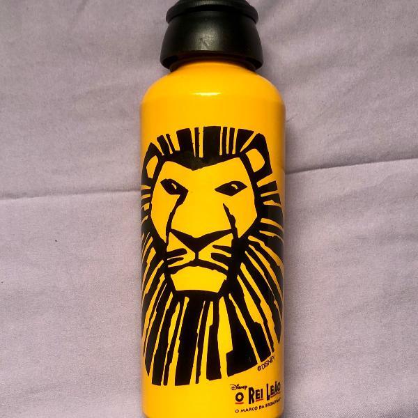 Garrafa squeeze rei leão broadway