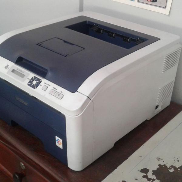 Impressora laser color brother hl3040cn