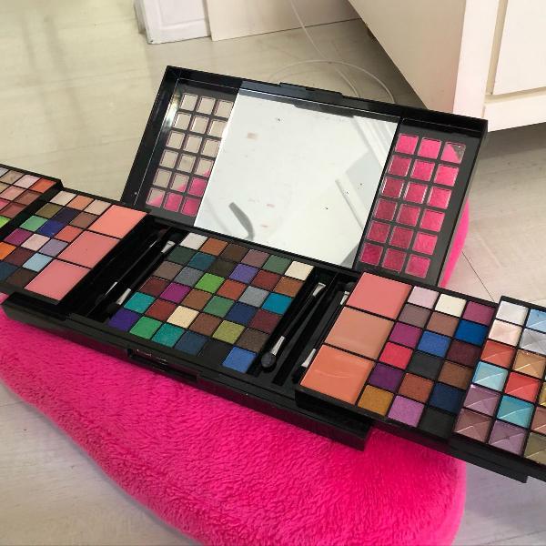 Paleta de sombras 156 cores taliya