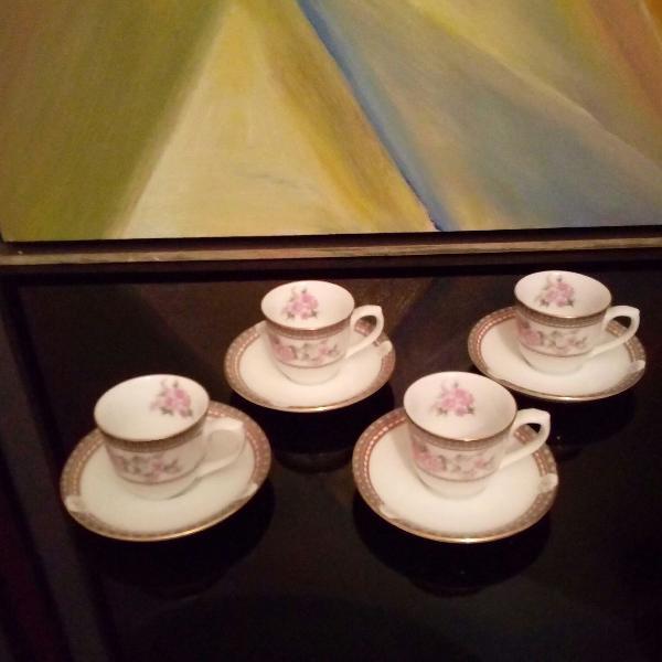 Porcelana schmidt xícaras para cafezinho alemã