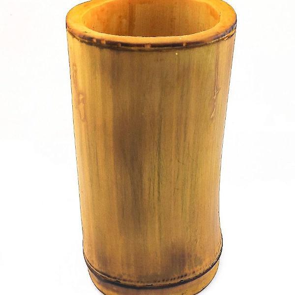 Porta treco de bambu artesanal