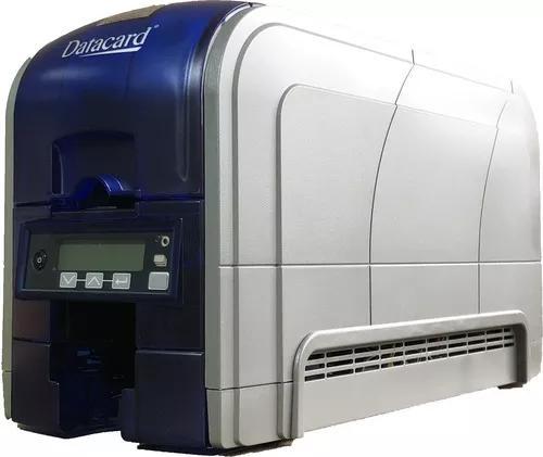 Impressora datacard sd260 simplex para crachás de pvc...