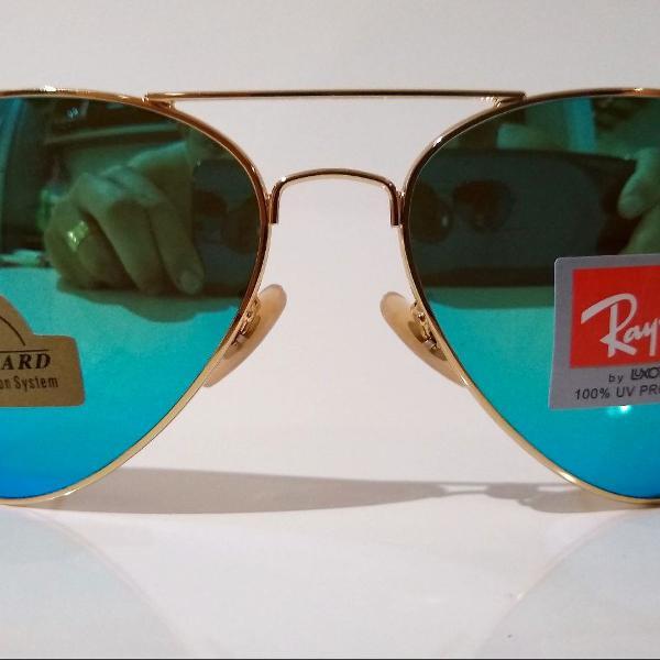 Ray ban espelhado