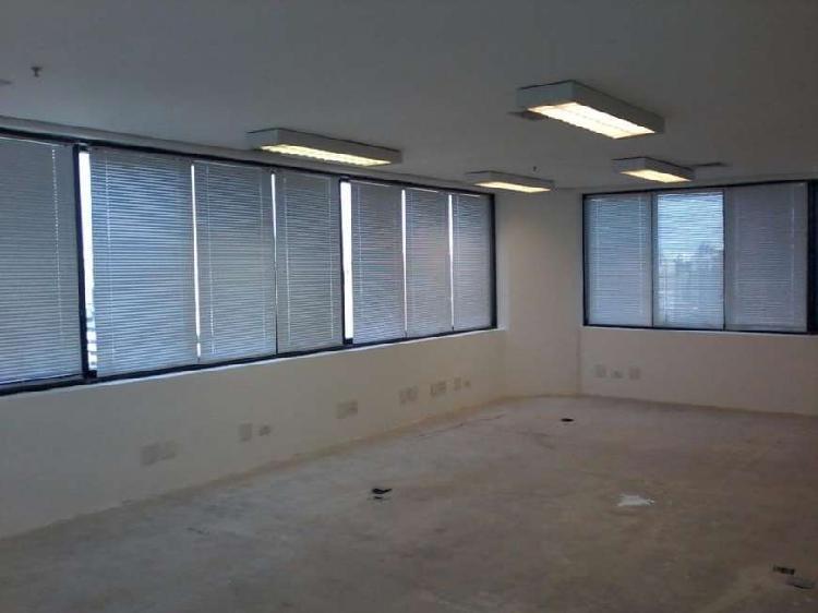 Sala comercial para alugar, 152 m² por r$ 9.000/mês cod.