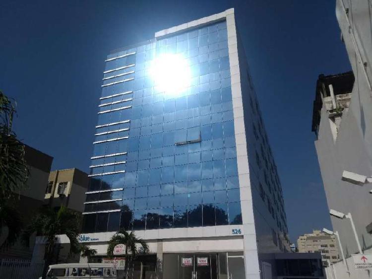 Sala comercial para alugar, 26 m² por r$ 800/mês cod. blue