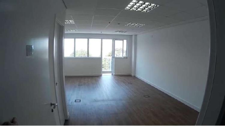Sala comercial para alugar, 42 m² por r$ 1.900/mês cod.