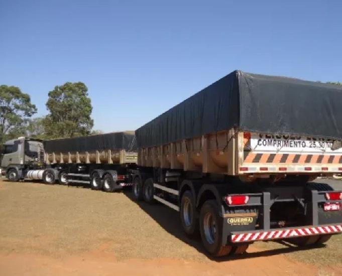 Scania r-440 6x4 boogie leve + rodocaçamba guerra 2014