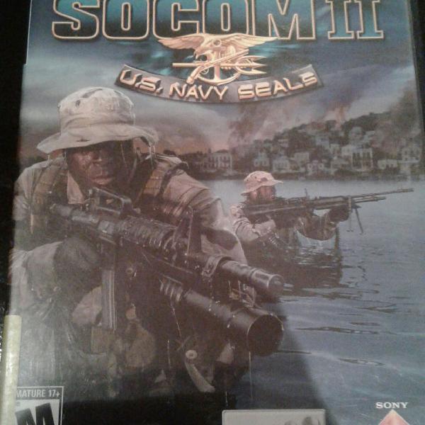 Socom 2 para ps2 original
