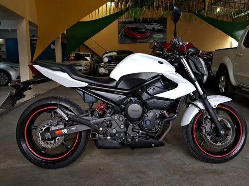 Yamaha xj6 n 2012 branca - xj6 2012 branca - xj6n branca