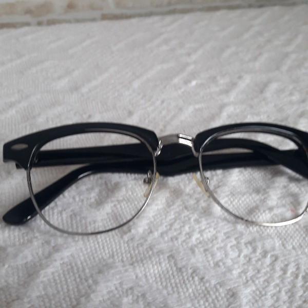 Armação óculos de grau retrô