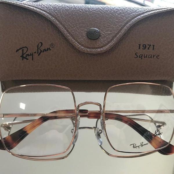Armação para óculos de grau ray ban quadrado rb1971
