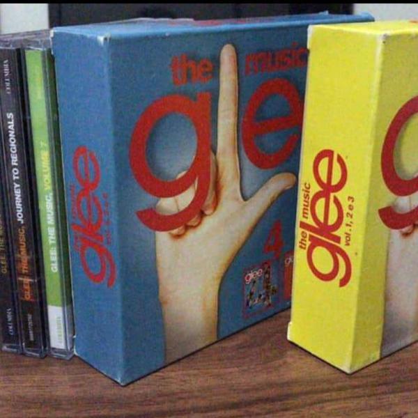 Box glee the music vol 1, 2, 3 + vol 4, 5, 6 + extras