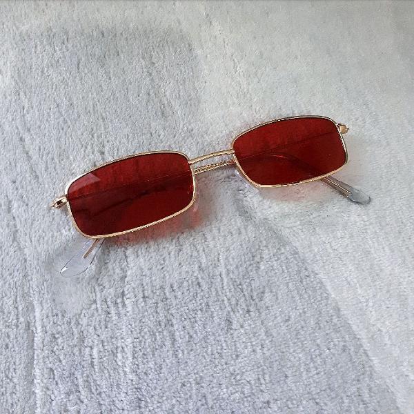 Culos zog vermelho vintage 80's hipster