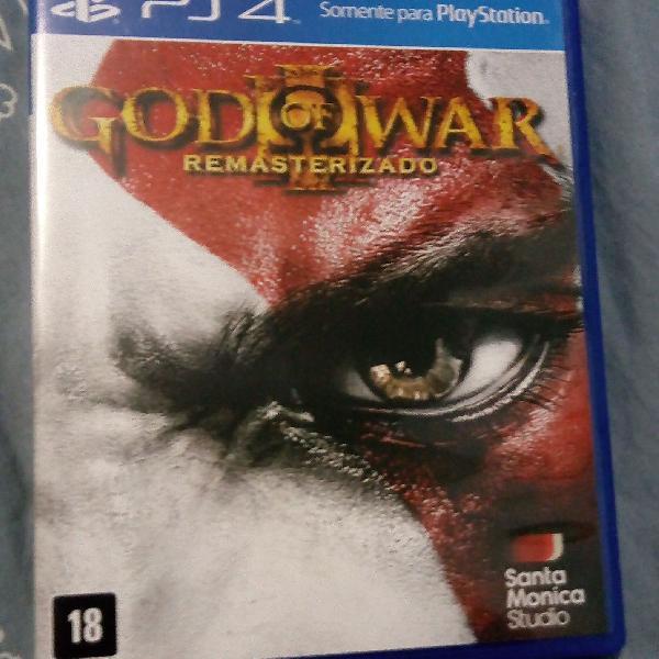 Jogo ps4 god of war remasterizado