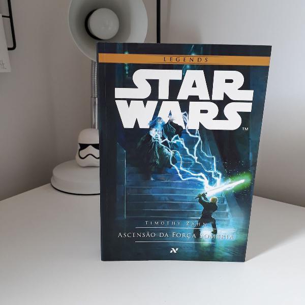 Livro star wars - ascenção da força sombria