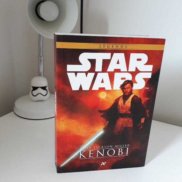 Livro star wars - kenobi