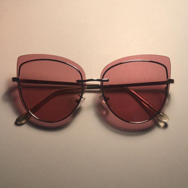 Oculos gatinho rosa urban outfitters