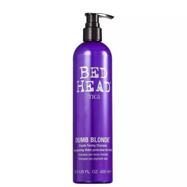 Shampoo matizador bed head dumb blonde 400ml