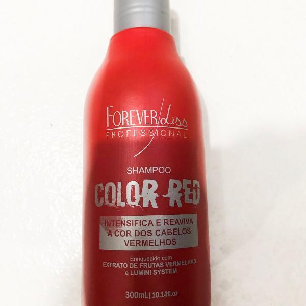 Shampoo ruivas color red forever liss