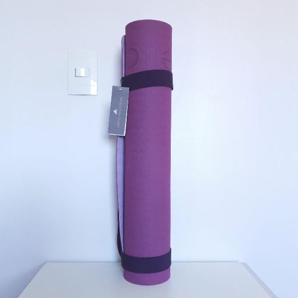 Tapete de exercícios yoga mat adidas stella mccartney roxo