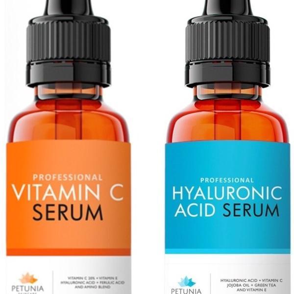 Vitamina c 20% + ácido hialurônico
