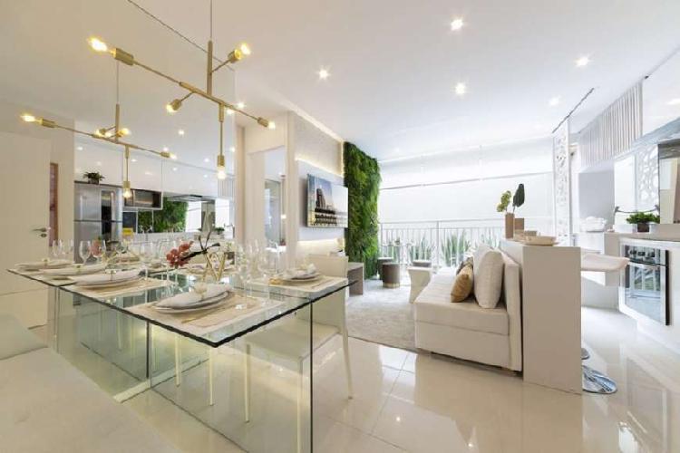 Apartamento com 2 quartos à venda, 44 m² por r$ 223.600