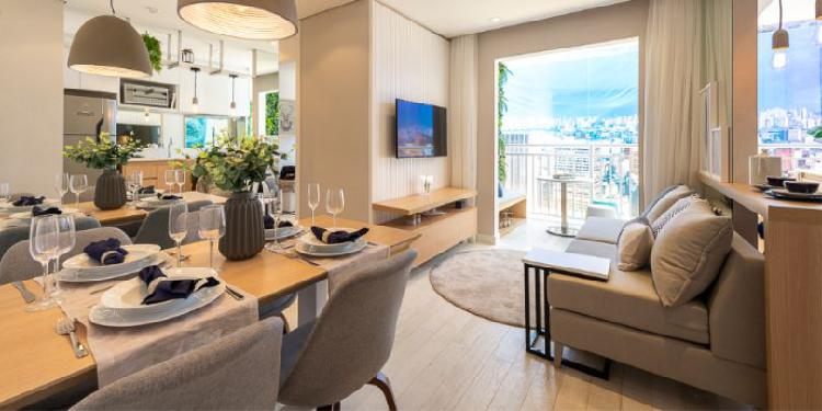 Apartamento com 2 quartos à venda, 44 m² por r$ 225.000