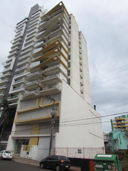 Apartamento semimobiliado para locação no Centro - 27337