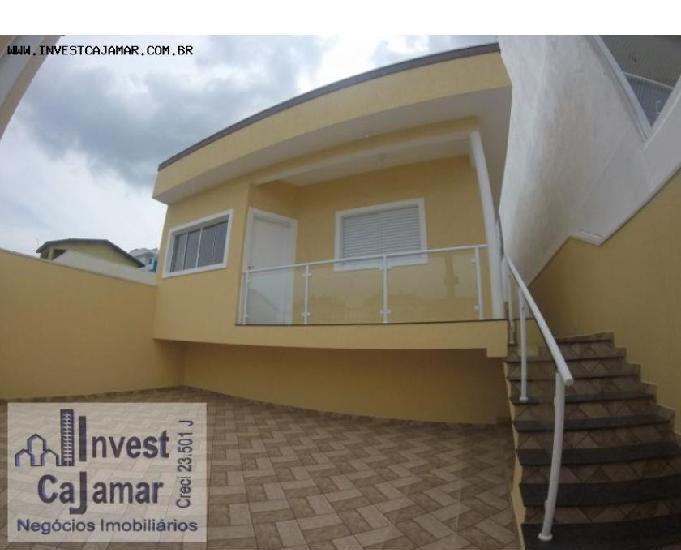 Bela casa no portal dos ipês, cajamar aceita finan e fgts