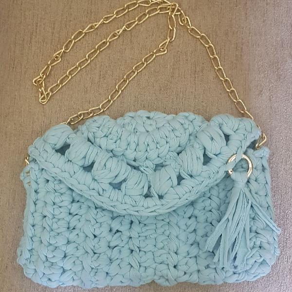 Bolsa/clutch crochet moderno