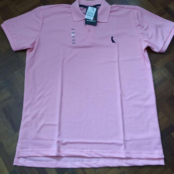 Camiseta reserva manga curta pólo