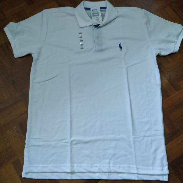 Camisetas manga curta polo
