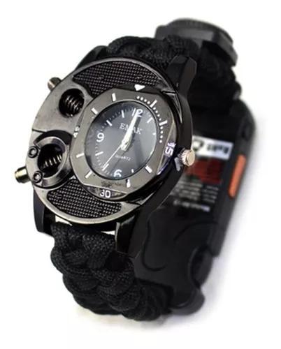 Durável sobrevivência relógio multi -funcional bússola p