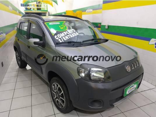 Fiat uno way 1.0 evo fire flex 8v 5p 2012/2012