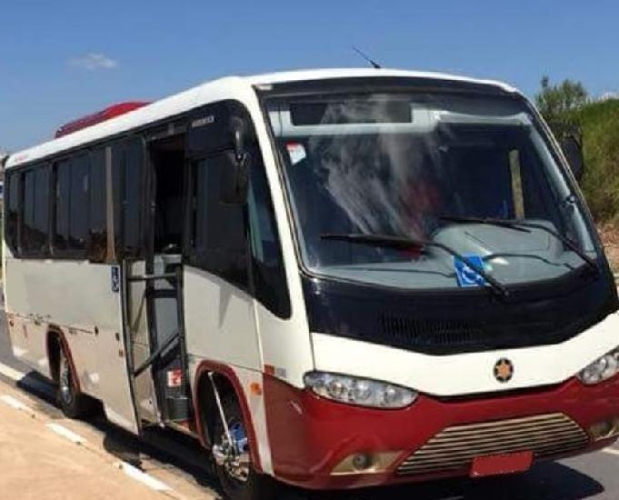 Micro ônibus rodoviário senior com ar 2007