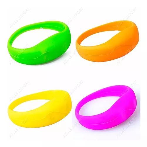 Pulseira de led bracelete silicone correr caminhada ciclismo