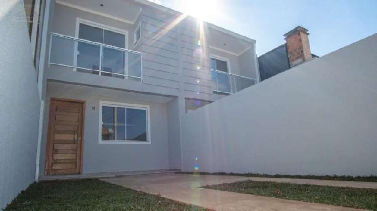 Sobrado com 2 quartos à venda, 78 m² por r$ 220.000 cod.