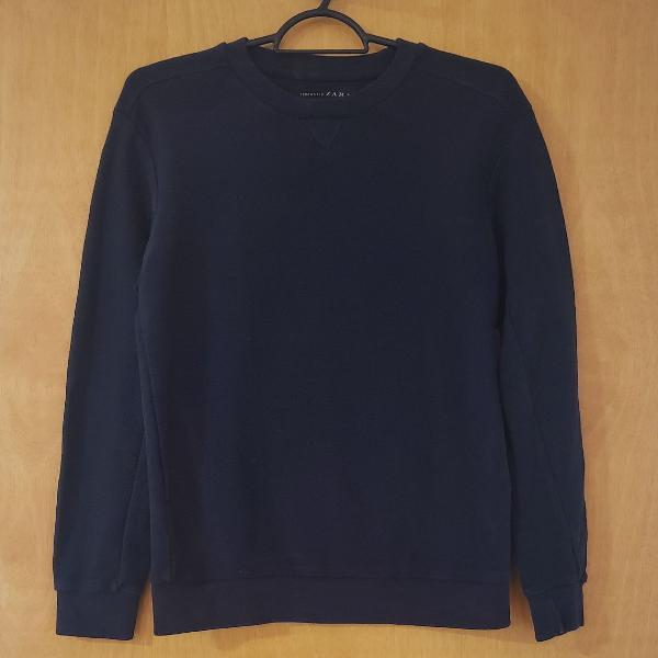 Blusa manga longa masculina zara man