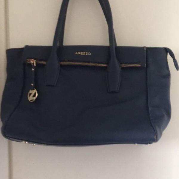Bolsa azul arezzo