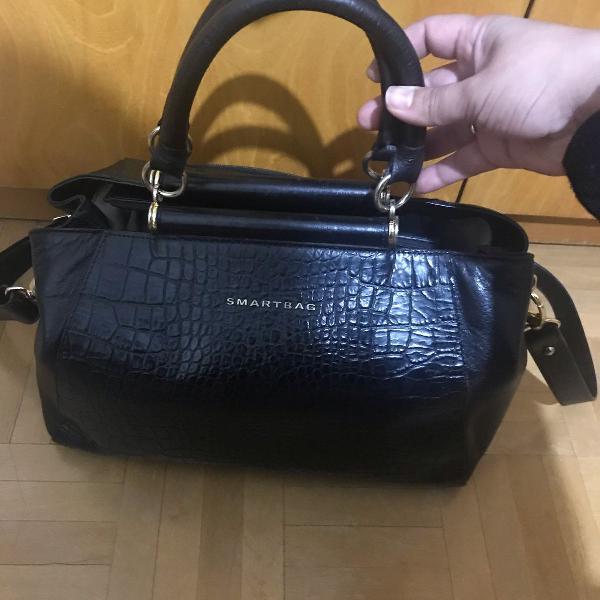 Bolsa de couro smart bag