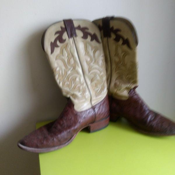 bota de couro de crocodilo importada
