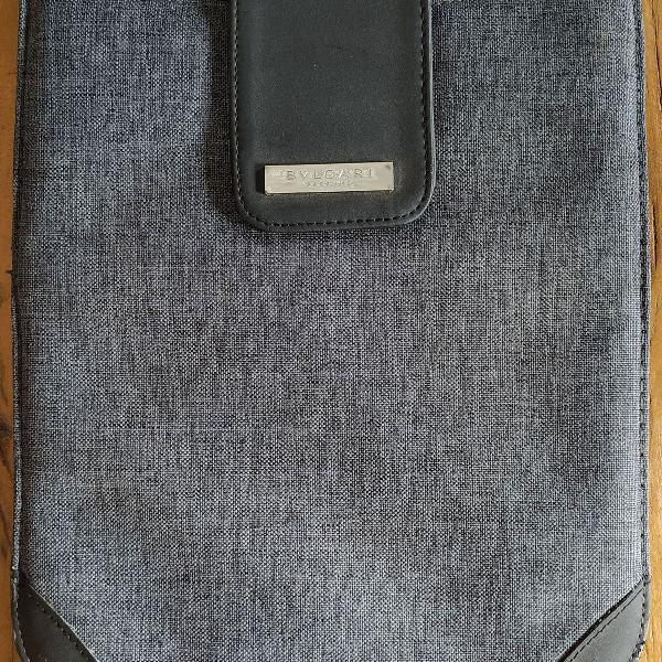 Bvlgari bolsa para ipad/tablet porta ipad