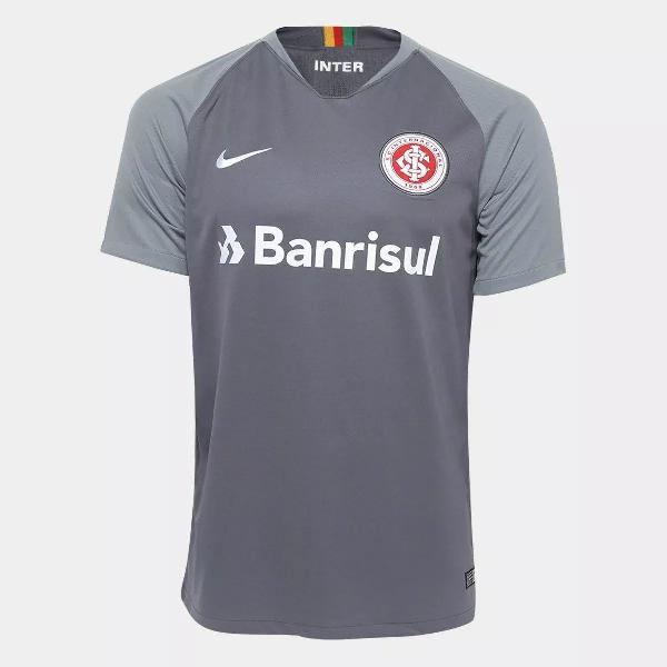 Camisa internacional iii 2018 nº 10 - nike masculina cinza