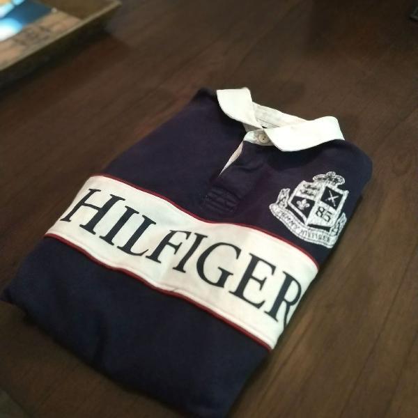 Camisa polo ralph lauren manga longa