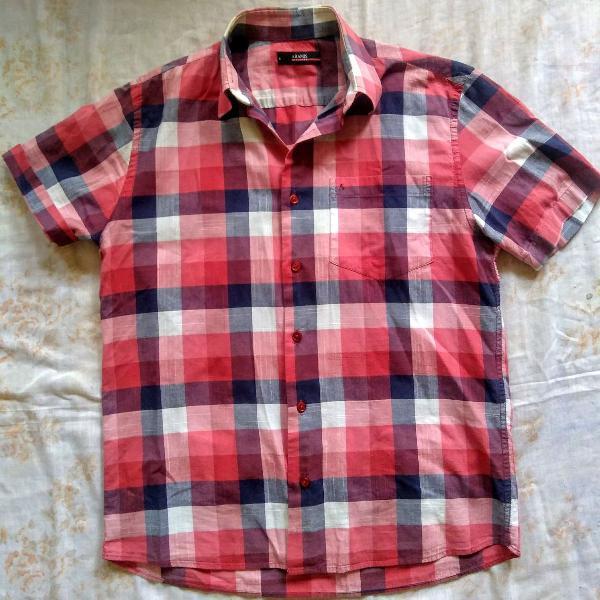 camisa xadrez aramis
